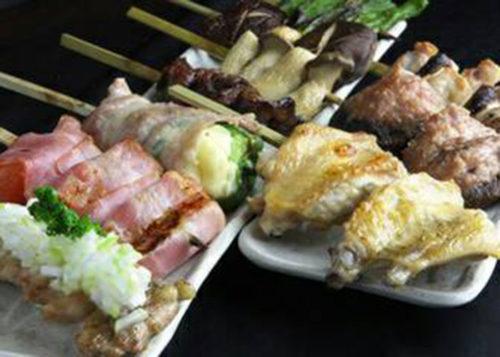 様々な串料理